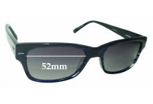 Sunglass Fix Sunglass Replacement Lenses for Cole Haan CH1682 - 52mm Wide