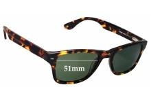 Sunglass Fix Sunglass Replacement Lenses for Columbia Bridger - 51mm Wide