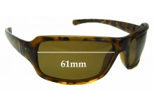 Sunglass Fix Sunglass Replacement Lenses for Columbia Humboldt - 61mm Wide