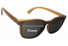 Sunglass Fix Sunglass Replacement Lenses for Coral Tree Fraser - 51mm Wide x 42mm Tall