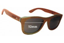 Sunglass Fix Sunglass Replacement Lenses for Coral Tree Hamilton - 52mm Wide x 43mm Tall