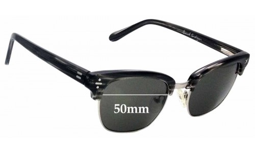 Sunglass Fix Sunglass Replacement Lenses for Derek Cardigan DC7010 - 50mm Wide