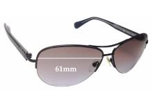 Sunglass Fix Sunglass Replacement Lenses for Diane Von Furstenburg DVF804S - 61mm Wide