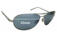 Sunglass Fix Sunglass Replacement Lenses for Dita Flight .S - 62mm Wide
