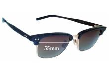 Sunglass Fix Sunglass Replacement Lenses for Dita Statesman Three - 55mm Wide