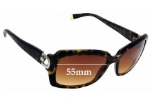 Sunglass Fix Sunglass Replacement Lenses for DKNY DY4073 - 55mm Wide