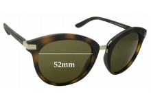 Sunglass Fix Sunglass Replacement Lenses for DKNY DY4140 - 52mm Wide