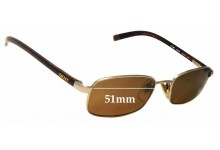 Sunglass Fix Sunglass Replacement Lenses for DKNY DY5002 - 51mm Wide