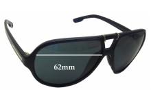 Sunglass Fix Sunglass Replacement Lenses for Dolce & Gabbana DG6062 - 62mm Wide