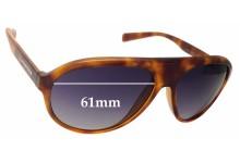 Sunglass Fix Sunglass Replacement Lenses for Dolce & Gabbana DG6080 - 61mm Wide
