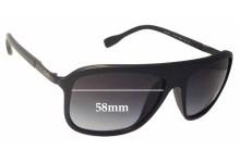 Sunglass Fix Sunglass Replacement Lenses for Dolce & Gabbana DG8088 - 58mm Wide