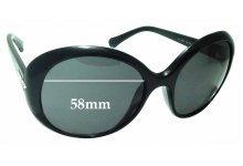 Sunglass Fix Sunglass Replacement Lenses for Dolce & Gabbana DG8085 - 58mm Wide