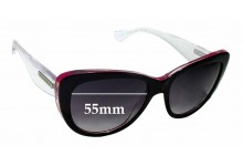 Sunglass Fix Sunglass Replacement Lenses for Dolce & Gabbana DG4221- 55mm Wide