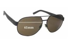 Sunglass Fix Sunglass Replacement Lenses for Dolce & Gabbana DG2147 - 61mm Wide