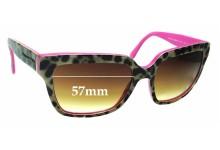 Sunglass Fix Sunglass Replacement Lenses for Dolce & Gabbana DG4234 - 57mm Wide