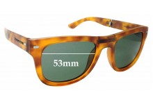 Sunglass Fix Sunglass Replacement Lenses for Dolce & Gabbana DG6089 - 53mm Wide