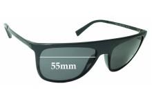 Sunglass Fix Sunglass Replacement Lenses for Dolce & Gabbana DG6107 - 55mm Wide