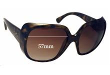 Sunglass Fix Sunglass Replacement Lenses for Dolce & Gabbana DG8087 - 57mm Wide
