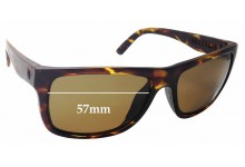 Sunglass Fix Sunglass Replacement Lenses for Electric Swingarm S - 57mm Wide