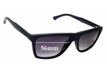 Sunglass Fix Sunglass Replacement Lenses for Emporio Armani EA4001 - 56mm Wide