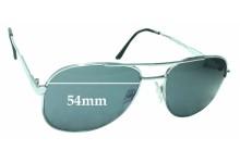 Sunglass Fix Sunglass Replacement Lenses for Engelhardt Pro-Safe - 54mm Wide