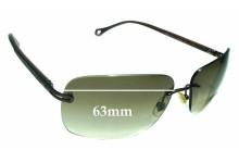 Sunglass Fix Sunglass Replacement Lenses for Ermenegildo Zegna SZ 3244 - 63mm Wide