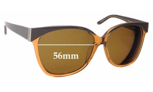 Sunglass Fix Sunglass Replacement Lenses for Esprit ET17755 - 56mm Wide