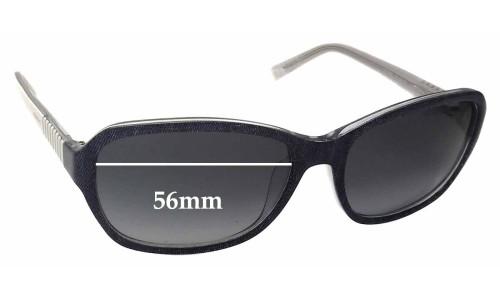 Sunglass Fix Sunglass Replacement Lenses for Esprit ET17885 - 56mm Wide