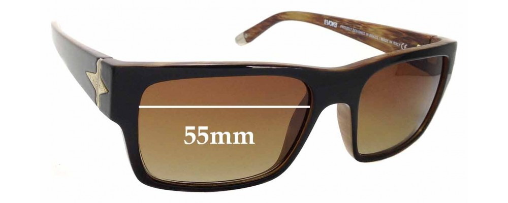 b91ff99fc95ef Sunglass Fix Sunglass Replacement Lenses for Evoke Famiglia Capo I - 55mm  Wide