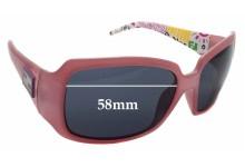 Sunglass Fix Sunglass Replacement Lenses for Fendi FS 507 - 58mm Wide