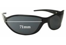 Sunglass Fix Sunglass Replacement Lenses for Fendi FS 7733 - 71mm Wide