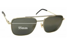 Sunglass Fix Sunglass Replacement Lenses for Fendi FF M0008/S - 55mm Wide