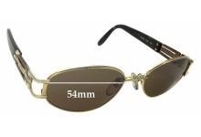 Sunglass Fix Sunglass Replacement Lenses for Fendi FS 209 - 54mm Wide