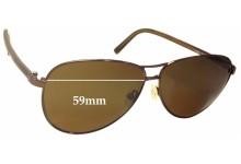 Sunglass Fix Sunglass Replacement Lenses for Fendi FS 5222 - 59mm Wide