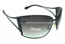 Sunglass Fix Sunglass Replacement Lenses for Fendi FS 413 - 70mm Wide