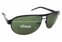Sunglass Fix Sunglass Replacement Lenses for Fila SF9556 - 65mm Wide