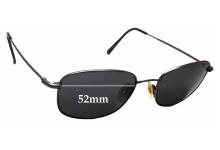 Sunglass Fix Sunglass Replacement Lenses for Flexon Autoflex 47  - 52mm Wide