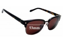 Sunglass Fix Sunglass Replacement Lenses for Fossil FOS 2003/S - 53mm Wide