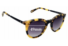 Sunglass Fix Sunglass Replacement Lenses for Fossil FOS 2053/S - 49mm Wide