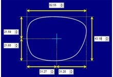 Sunglass Fix Sunglass Replacement Lenses for Fiorelli Sage - 62mm Wide