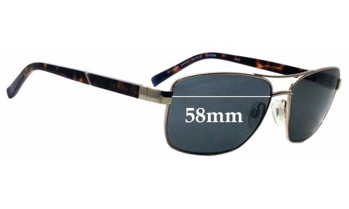 Sunglass Fix Sunglass Replacement Lenses for Gant GA7079 - 58mm Wide