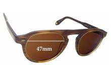 Sunglass Fix Sunglass Replacement Lenses for Garrett Leight Harding BRT - 47mm Wide