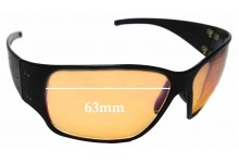 Sunglass Fix Sunglass Replacement Lenses for Gatorz Fury - 63mm Wide