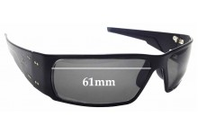Sunglass Fix Sunglass Replacement Lenses for Gatorz Octane - 61mm Wide