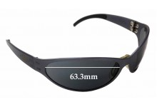 Sunglass Fix Sunglass Replacement Lenses for Gatorz Unknown Model - 63.3mm Wide x  33.5mm Tall