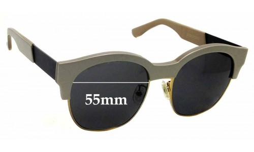 Sunglass Fix Sunglass Replacement Lenses for Gentle Monster Boy In - 55mm Wide