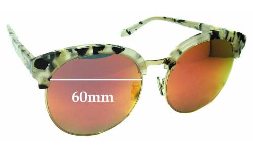 Sunglass Fix Sunglass Replacement Lenses for Gentle Monster x Second Floor Deborah - 60mm Wide