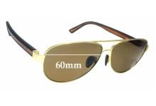 Sunglass Fix Sunglass Replacement Lenses for Gidgee Equator - 60mm Wide
