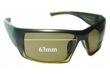 Sunglass Fix Sunglass Replacement Lenses for Gill Edge - 63mm Wide