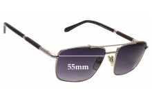 Sunglass Fix Sunglass Replacement Lenses for Givenchy VGV433 - 55mm Wide